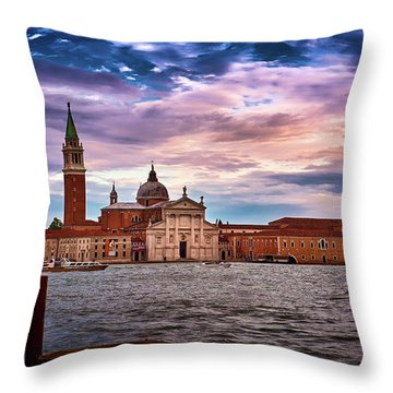 San Giorgio Di Maggiore Church Throw Pillow