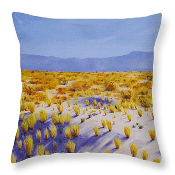 San Jacinto Throw Pillow