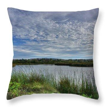 San Joaquin Wildlife Reserve Throw Pillow