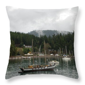 San Juan - Orcas Island  Throw Pillow