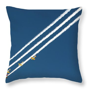 Throw Pillow featuring the photograph San Juan Aces by Kevin Munro