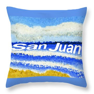 San Juan  Throw Pillow