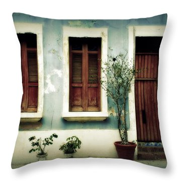 San Juan Living 3 Throw Pillow by Perry Webster