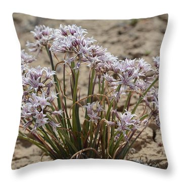 Throw Pillow featuring the photograph San Juan Onion by Jenessa Rahn