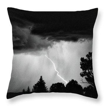 Throw Pillow featuring the photograph San Juan Strike by Kevin Munro