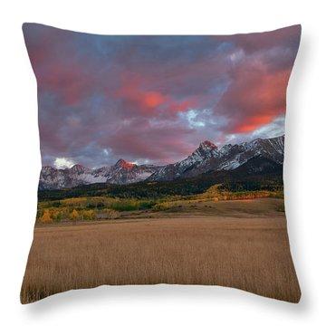 San Juan Sunset Throw Pillow