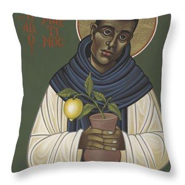 San Martin De Porres 213 Throw Pillow