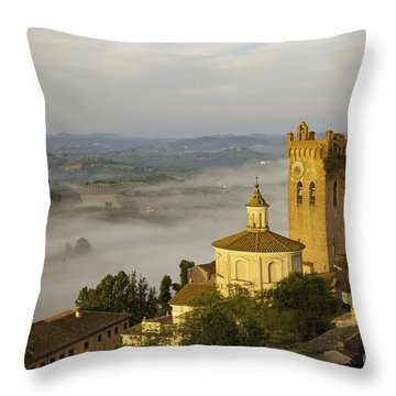 San Miniato Throw Pillow