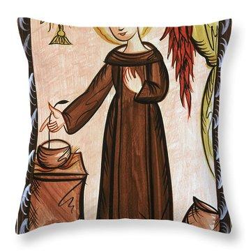 San Pascual Bailon - St. Pascal Baylon - Aopab Throw Pillow