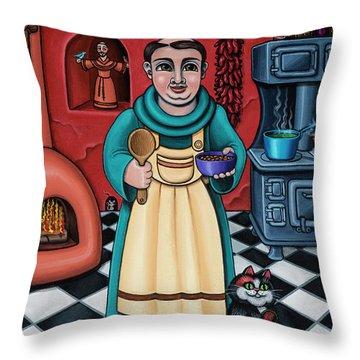 San Pascual Paschal Throw Pillow