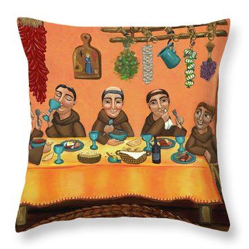 San Pascuals Table 2 Throw Pillow