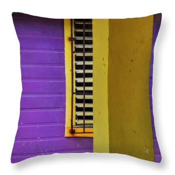 Throw Pillow featuring the photograph San Pedro Abstract 001 by Lance Vaughn