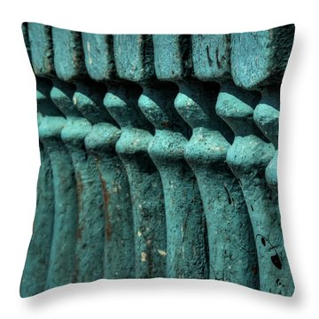 Throw Pillow featuring the photograph San Pedro Abstract 002 by Lance Vaughn
