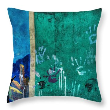 Throw Pillow featuring the photograph San Pedro Abstract 003 by Lance Vaughn
