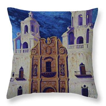 San Xavier Throw Pillow