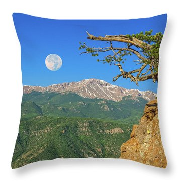 Sanctity Of Nature, The Impetus Behind My Photography Throw Pillow