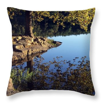 Sanctuary Throw Pillow by Angelina Vick