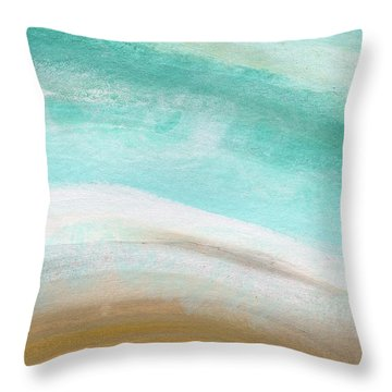 Grey Skies Throw Pillows