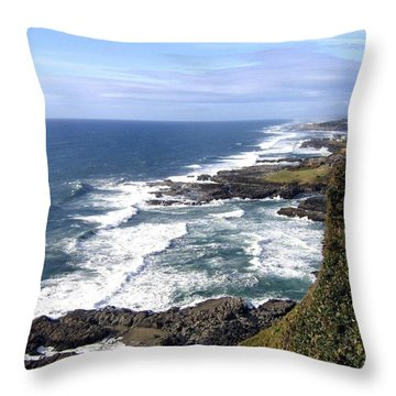 Sand And Sea 2 Throw Pillow by Will Borden