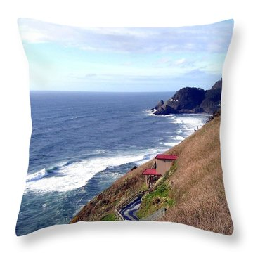 Sand And Sea 5 Throw Pillow by Will Borden