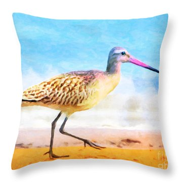Sand Between My Toes ... Throw Pillow