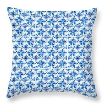 Sand Dollar Delight Pattern 1 Throw Pillow