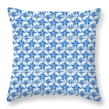 Sand Dollar Delight Pattern 1 Throw Pillow