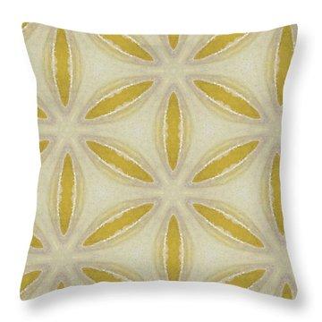 Sand Dollar- Art By Linda Woods Throw Pillow