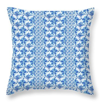 Sand Dollar Delight Pattern 2 Throw Pillow