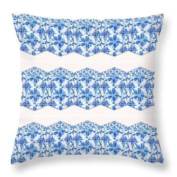Sand Dollar Delight Pattern 4 Throw Pillow