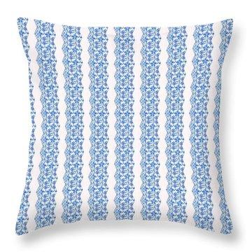 Sand Dollar Delight Pattern 5 Throw Pillow