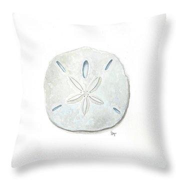 Sand Dollar Throw Pillow