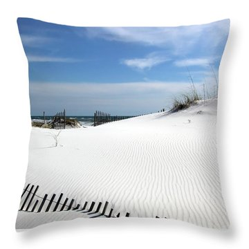 Sand Dunes Dream Throw Pillow