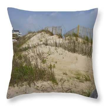 Sand Dunes II Throw Pillow by Betsy Knapp