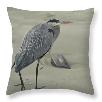 Sand In My Toes Throw Pillow