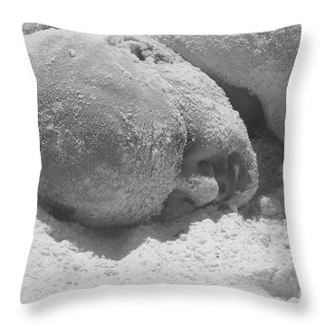 Sand Man Throw Pillow
