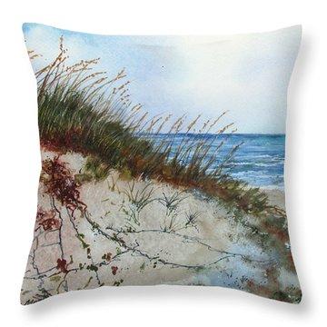 Sand Mount Throw Pillow