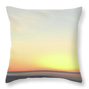 Sand Painting 3 Throw Pillow
