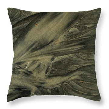 Sand Patterns Myths Of The Ages Throw Pillow by Todd Breitling