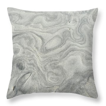 Sand Sculpture Throw Pillow