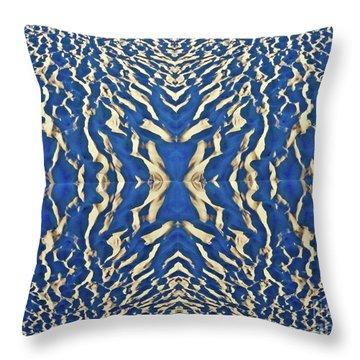Sand Shadow Matrix Throw Pillow