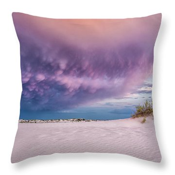 Sand Storm Throw Pillow