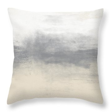 Sand Swept- Abstract Art By Linda Woods Throw Pillow
