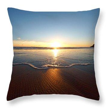Sand Textures Throw Pillow