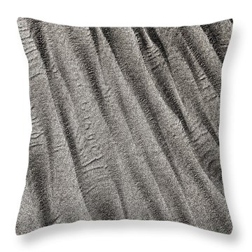 Sand Waves Throw Pillow