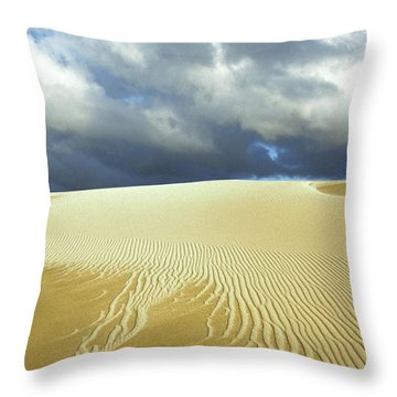 Sandanistas Throw Pillow