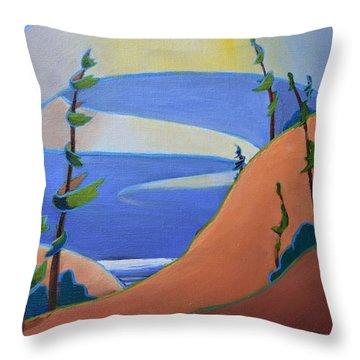 Sandbanks Throw Pillow