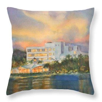 Sandcastle Retreat  Throw Pillow