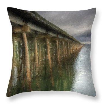 Sandpoint Longbridge  Throw Pillow