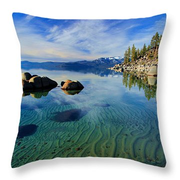 Sands Of Time 2 Throw Pillow